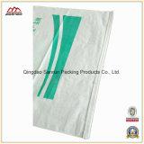 Alimentation de la plaine d'emballage en plastique blanc PP Sac tissé avec chemise