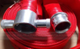"13bar 65mm 2,5"" Red PVC Mangueira de Incêndio"