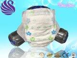熱い販売法の柔らかい表面の最もよい品質の使い捨て可能で、柔らかい通気性の赤ん坊のおむつ