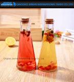 Form-Getränkeglasvorratsbehälter des Kegel-350ml mit Korken