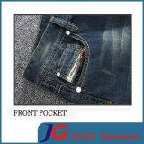 Прямой тонкий Vintage Джинсы для мужчин (JC3396)