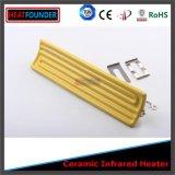 Placa cerâmica infravermelha elétrica industrial do calefator