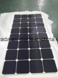 Отсутствие Aluminum-Alloy панели солнечных батарей рамки 100W Semi гибкой