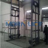 Plataforma grande pesada de la elevación de mercancías para el almacén