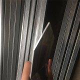 La polvere nera ha ricoperto 2.1m x rete fissa tubolare della guarnigione del germoglio unita 2.4m