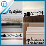 Etiqueta engomada mural de la pared de la mariposa del retén de los gatos del papel pintado de las etiquetas del arte
