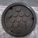 Blocchetti di gomma rotondi di Nr/EPDM per l'elevatore dell'automobile