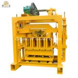 Просто блок делая кирпич цемента машины Qt4-40 преградить делать цену Непал машины