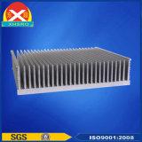 Aluminiumlegierung-Strangpresßling-Kühlkörper für aufladeninverter-Batterie