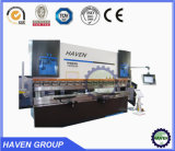 WC67Y/K 200T / 3200mm folha servo eletroidráulica dobradeira de placa