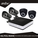 4CH 1080P hohe Definition Ahd DVR CCTV-Hauptkamera-Installationssatz