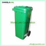 Spreco pubblico 360 L scomparto per pulizia, scomparto residuo, pattumiera, pattumiera pubblica dell'HDPE dell'immondizia