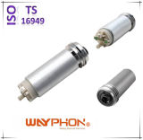 N/D; Bosch: 0580453012; Mfp0013; 76915; 770100; 70062; V10-09-0838; Qfp622 V.Wのための銀白いアルミニウム電気燃料ポンプ; シート、Jetta、Passat Iのポロ(WF-4305)