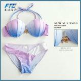 2017 новая раковина градиента Swimsuit 4 Бикини Mermaid Swimsuit