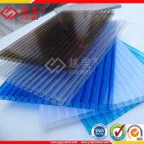 El panel de pared plástico hueco del material de construcción de la hoja del policarbonato