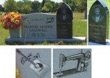 Piedra de alta precisión y máquinas de grabado láser