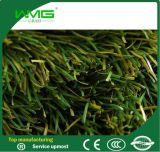 Synthetische Gras van de Voetbal van de zigzag het Doornaaiende
