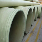 Tubo Gre de grande diâmetro do tubo de fibra de plástico reforçado por fibra tubo GRP redonda