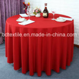 Mesa Redonda de poliéster Premium paño para boda