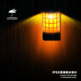 Solarfeuer-Solarfeuer-Cup-Flamme Balze Rasen-Wand-Dekoration-Laterne-Lampen-Licht