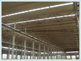 El peso de la luz de la estructura de acero de gran altura del almacén de la Oficina Edificio Taller