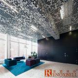 Перфорированные панели из алюминия для алюминиевых фасад / Алюминиевая оболочка на стене
