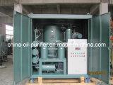 Purificador de petróleo del transformador, sistema de la regeneración del aceite aislador, sistema de reciclaje del petróleo, máquina del filtro de petróleo del transformador