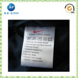 Wholeslaes projeta as etiquetas de cuidado impressas da roupa do endereço (JP-CL042)