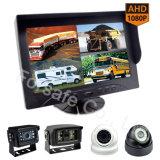 9  sistemi della macchina fotografica di Rearview dell'automobile/rimorchio del video di Quadrato-Vista con i cavi del connettore e di spirale dell'amo del rimorchio