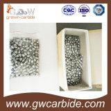 Uso dos bits de tecla do carboneto de tungstênio para a rocha