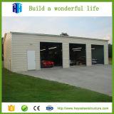 Modèle extérieur en acier d'entrepôt de fabrication de structure de panneau-réclame de coût bas