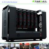 Kundenspezifische Präzisions-Laser-Ausschnitt-Schrank-Teile mit Blech-Herstellung