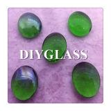 Groen Gebrandschilderd glas