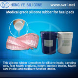 Gomma di silicone liquida del grado medico per la fabbricazione dei prodotti dei sottopiedi del silicone