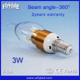 中国の製造者LEDの照明ベースE27 LED球根(F-D2 5730)