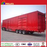 3 essieux 60 tonnes de remorque de cadre dans semi la remorque