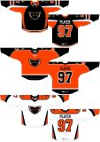 Hokey di ghiaccio domestico personalizzato della strada dei fantasmi 2014-2015 americano della valle di Lehigh della Lega di Hockey dei capretti delle donne degli uomini Jersey