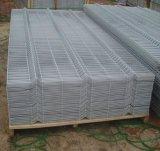 O PVC revestiu o painel curvado 3D da cerca de Nylofor/a cerca metal soldado