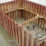 Laminado en Caliente u tipo Z y tipo de pila de la hoja de acero para construcción