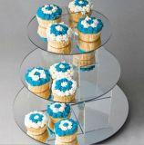 De ronde AcrylSeparator van de Cake voor Huwelijk of Partij
