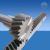 CNC-tandheugel en pignon van staal met hoge precisie C45