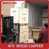 Burilador de madera de la desfibradora Chipper Chipper de madera de la máquina del corte del árbol de la ramificación del precio de fábrica