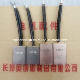 Vente en métal graphite Brosses carbone pour AC / DC Motor (liste CM5H)