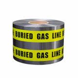 中国の工場BOPP/Al/PE地下の探索可能な警告または注意テープ