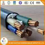 Yjv Yjv22 0.6/1kv cuivre Yjv32 XLPE/PVC/câble d'alimentation de l'EHCT 3X50+2x25 mm2