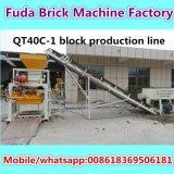 Deutschland-Technologie-kleine hohle Block-Maschine mit Qualität