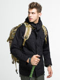 Мужчин Esdy охота на открытом воздухе Спортивные куртки тактической борьбе с ветровку