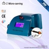 Utilisation de Salon Diamond Dermabrasion de la machine avec feux de froid