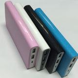 портативный двойной заряжатель крена силы мобильного телефона USB 8000mAh (PB-J27)