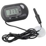 Wasserdichter elektronischer Digital-drahtloser Wasser-Aquarium-Thermometer mit Fühler für Fisch-Becken-Marine-Temperatur